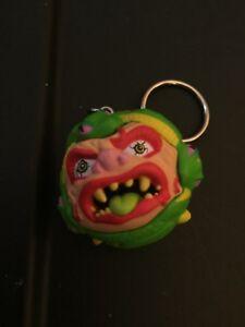 Kidrobot Mad Balls Vinyl Keychain Series Snake Bait Figure NEW