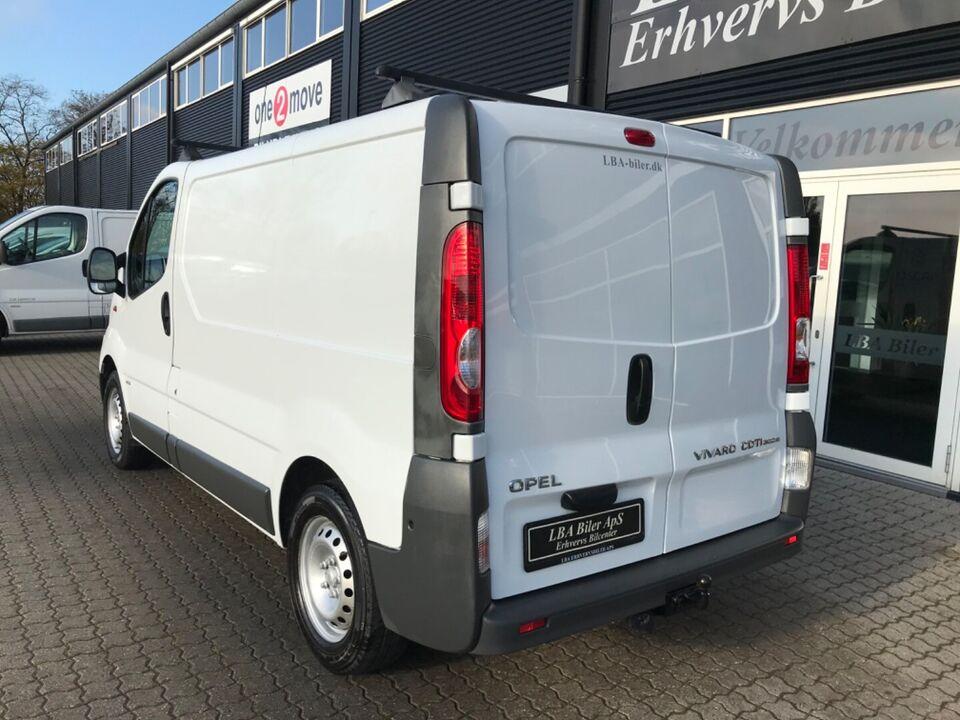 Opel Vivaro 2,0 CDTi 114 Van L1H1 Diesel modelår 2013 Hvid km
