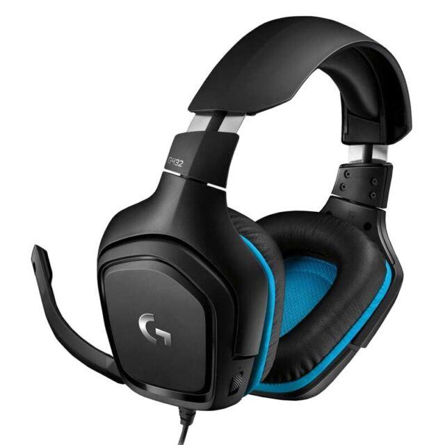 Logitech G432 Gaming-Kopfhörer schwarz Kabellänge: 2 m 107 dB