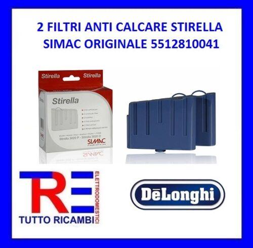2 FILTRI ANTICALCARE STIRELLA SIMAC ORIGINALE 5512810041