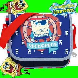 Sponge Bob Kindergartenta<wbr/>sche Spongebob Schwammkopf 20213 Umhängetasche KiTa