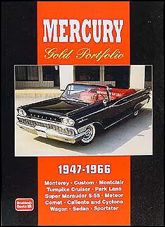 Book of 62 magazine articles on Mercury 1954 1955 1956 1957 1958 1959 1960 1961