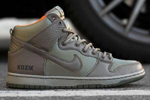 detailed look 8420b ea54e Image is loading Nike-Dunk-High-Premium-SB-High-Frank-Kozik-