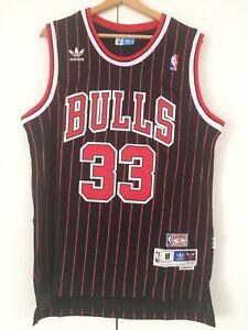 Canotta-nba-basket-Scottie-Pippen-Retro-jersey-Chicago-Bulls-maglia-S-M-L-XL-XXL