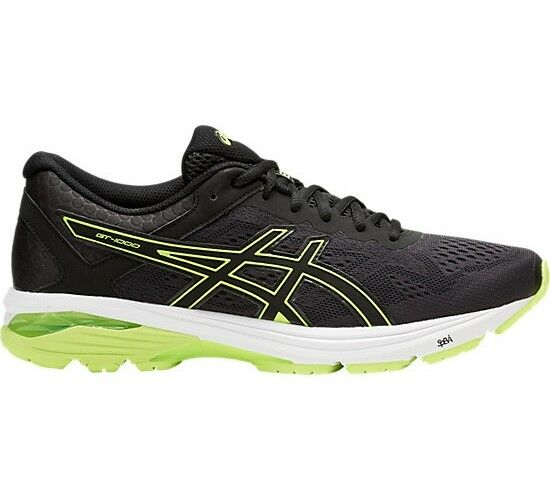 Authentic Asics Gel GT 1000 6 Mens Running shoes (2E) (9007)