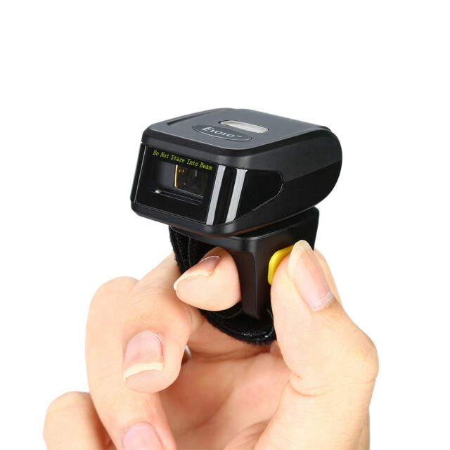 Portable Wearable Ring Wireless Bluetooth Barcode Scanner