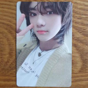 Beomgyu Official Photocard TXT The Chaos Chapter : Freeze Genuine Kpop