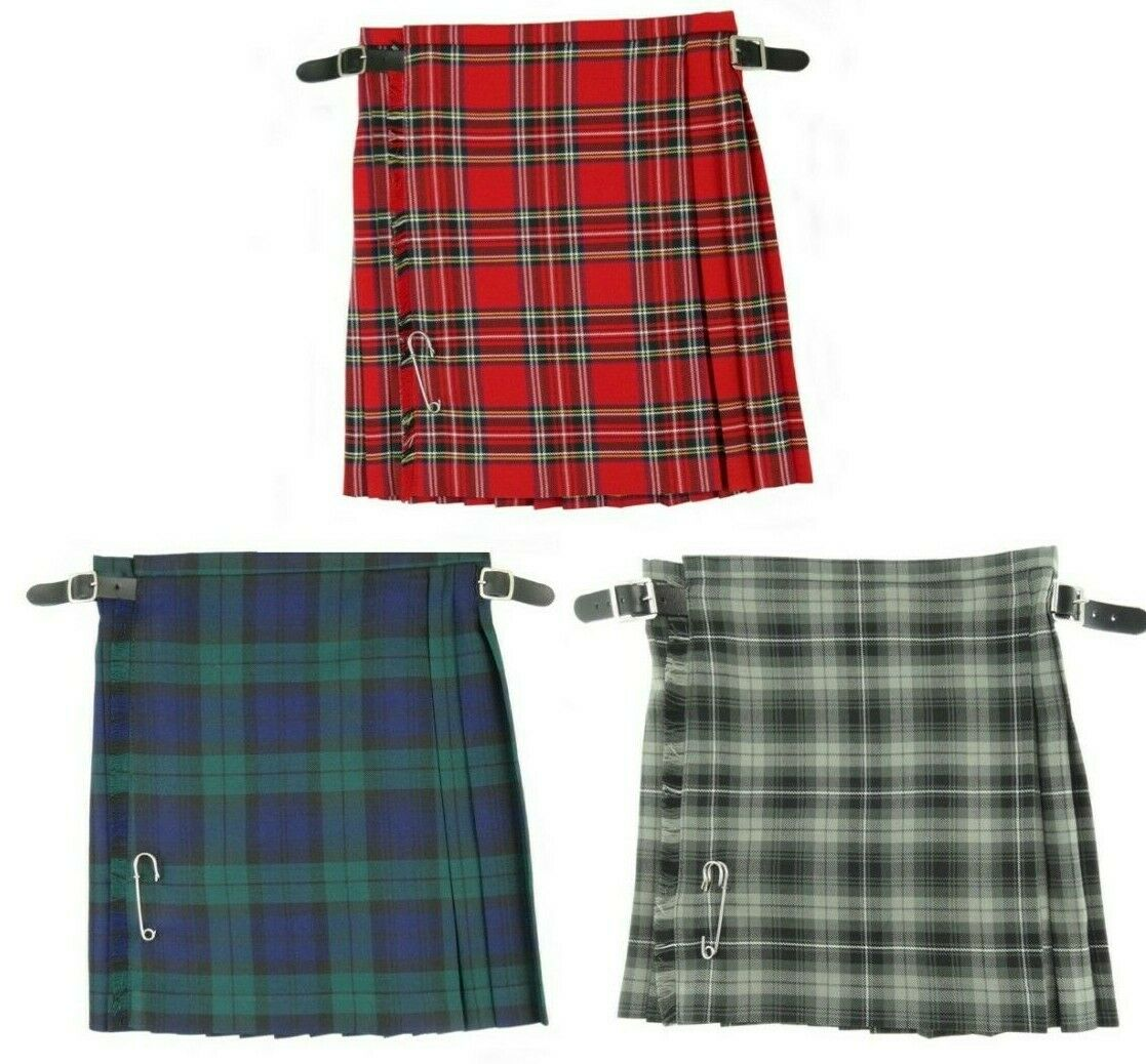 Scottish Boys Kilts Made In Scotland New
