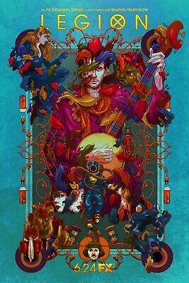 Aubrey Plaza v2 Legion TV Poster - Dan Stevens 24x36 Rachel Keller