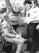 Ronnie Peterson & Colin Chapman John Player Special Lotus F1 Portrait Photograph