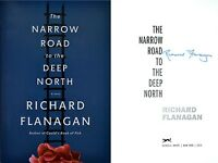 Richard Flanagan Signed Narrow Road To The Deep North 1st/1st 2014 Man Booker