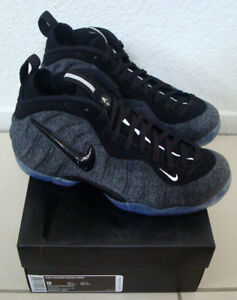 98dbf523dc1 DS Nike Foamposite Pro Tech Fleece Wool Dark Grey Heather Black ...