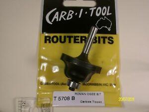 Router Bit- 6.4mm Roman Ogee BIT 1/4shk( CARB-I-TOOL)