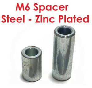 Spacer-M6-6mm-Steel-Zinc-Plated-6-2mm-ID-10mm-OD-Un-Threaded