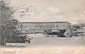 BRIDGEVILLE-NEW-YORK-COVERED-BRIDGE-E-F-BRANNINGS-ARTINO-PHOTO-POSTCARD-1908