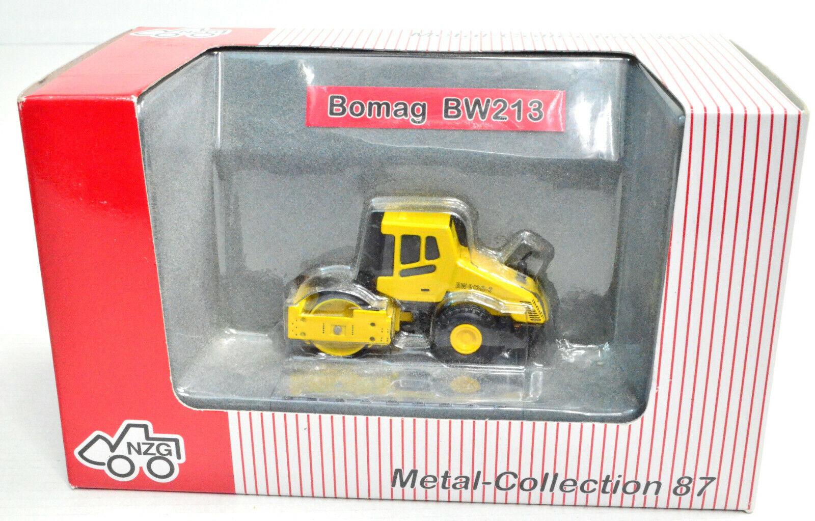 NZG Bauwagen   1:87 HO NZG 560    Metall NEU OVP  #999