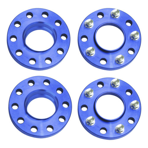 5x120 Staggered Wheel Spacers Kit 15mm/& 2 2 20mm With Extended Bolts For BMW