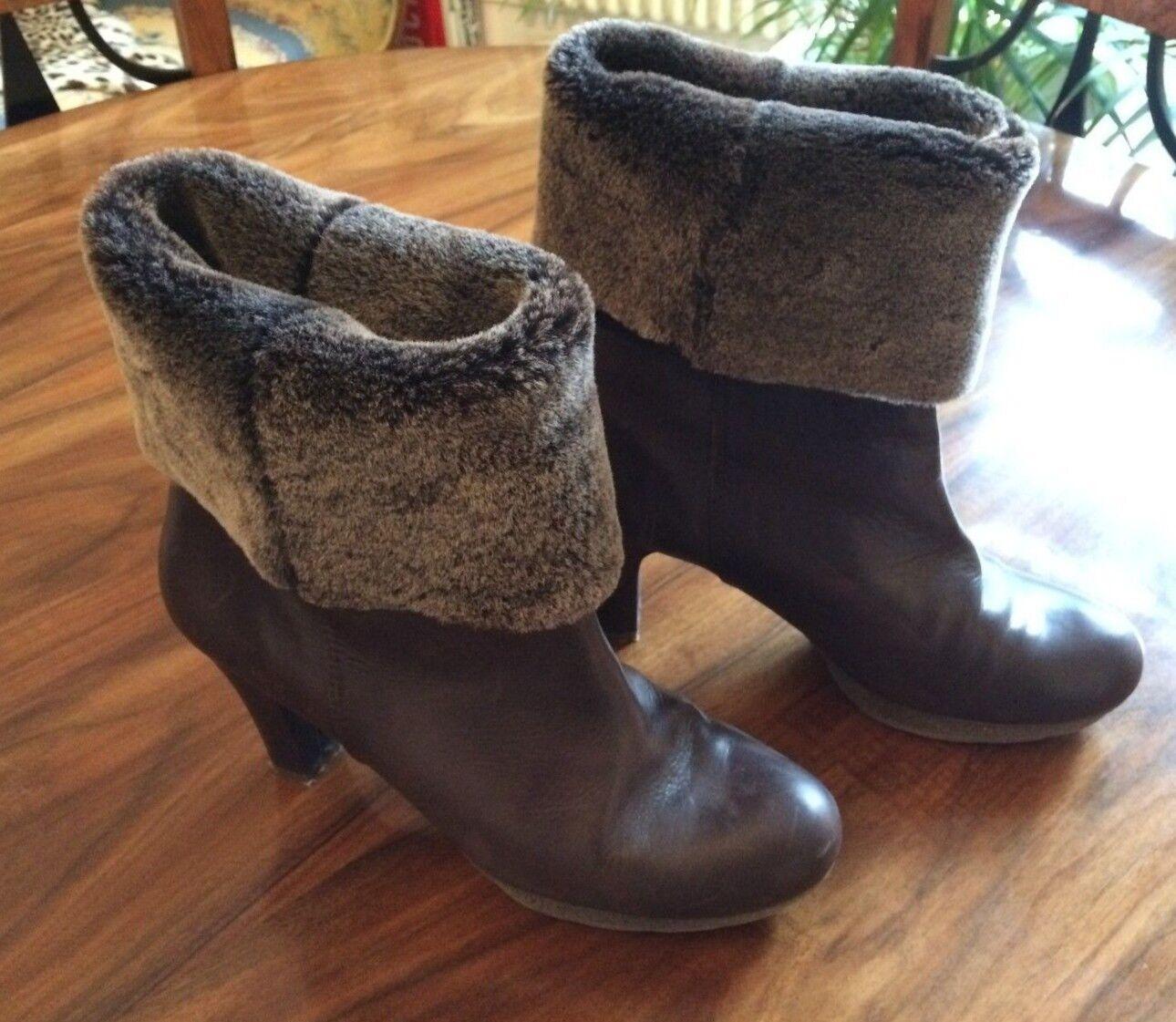 Unsia Stiefel mit Stulpe braun Schuhgrösse 41 gebraucht