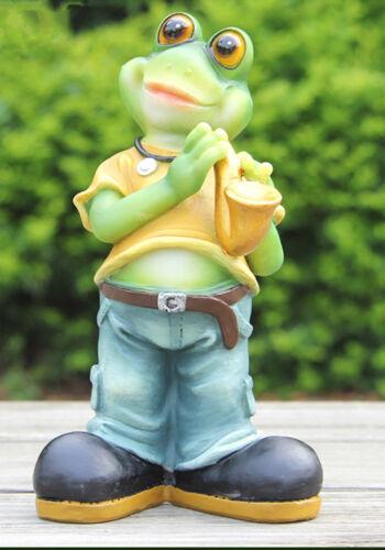 Nain 20 cm de haut grenouille 87019-2 Deco Jardin Nain de Jardin Décoration