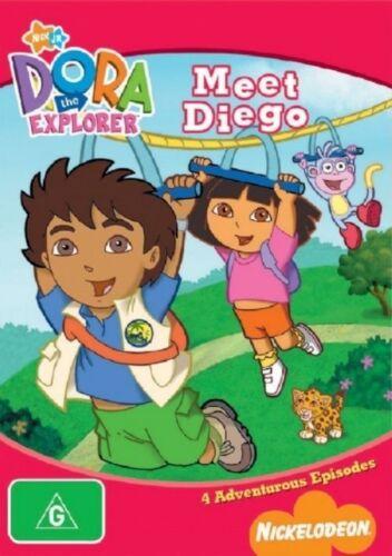 1 of 1 - Dora The Explorer - Meets Diego (DVD, 2006)