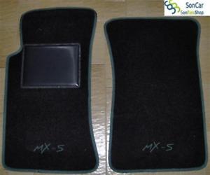 MAZDA MX-5 TAPPETI-tappetini AUTO 2 loghi 4 block!