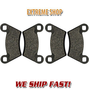 2010-2013 Polaris 850 Sportsman XP EPS Front Rear Sport Brake Rotors Brake Pads