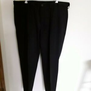 Mens-dress-pants-size-42x29-Haggar-H26-classic-fit-new-with-tags-color-black