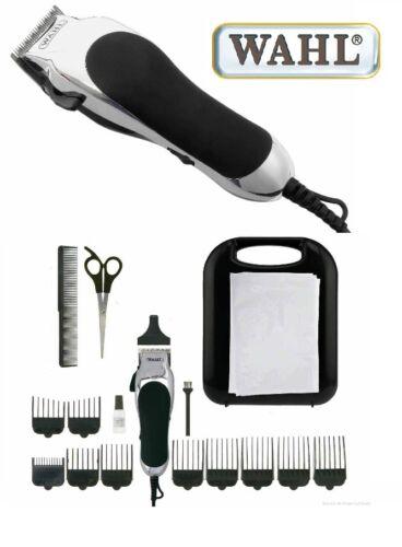 Wahl Haarschneidemaschine ChromPro+Zubehör Haarschneidegerät Haarschneider 42040