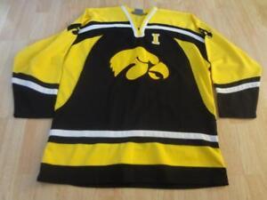eab8f9b84 Men's Iowa Hawkeyes XL Hockey Jersey Colosseum Athletics Jersey | eBay