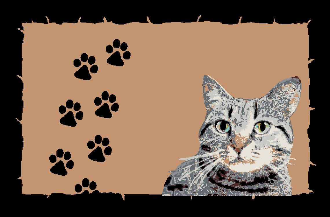 Fußmatte mit mit mit Namen Napfunterlage Katzenmatte  75x50 cm  Design 17180549 | Zürich Online Shop  bdab71