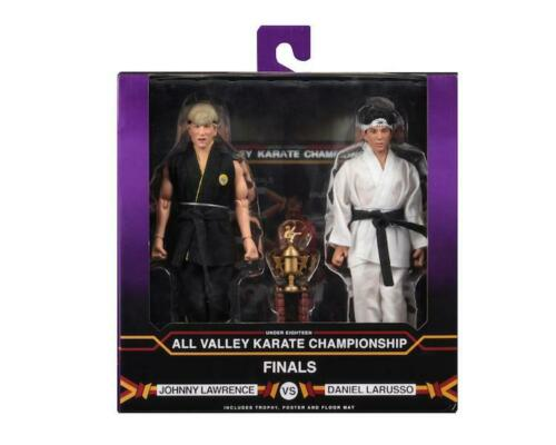 """Karate Kid 1984 Tournament 2 Pack 8/"""" vestidos de figuras de acción NECA"""