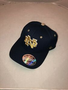 Other Unisex Clothing Hot Sale Notre Dame Fighting Irish Ncaa Youth Size Flex/fit Cap By Zephyr D135