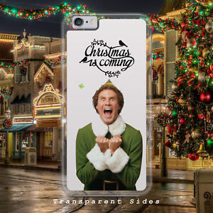 Buddy The Elf Christmas X Mas Santa Hard Plastic Phone Case Cover