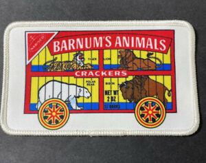 Vintage 1980's Nabisco Barnum's Animal Crackers Sew on Patch