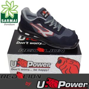 Upower Lion Src Red Antinfortunistica Active Scarpe S1p ggxqrS6w