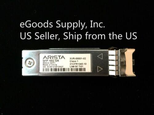 10Gbps Optical Transceiver Arista SFP-10G-SR 850nm SFP