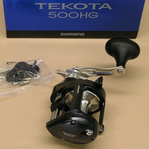 Shimano Tekota 500HG Round Fishing Reel 6.3:1 6.3:1 6.3:1 TEK500HGA Tekota A 500HGA a8db4f