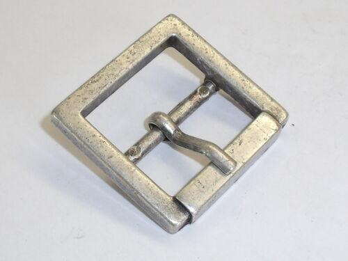 Gürtelschnalle Schließe Schnalle  2,5 cm altsilber NEUWARE rostfrei #273.2#
