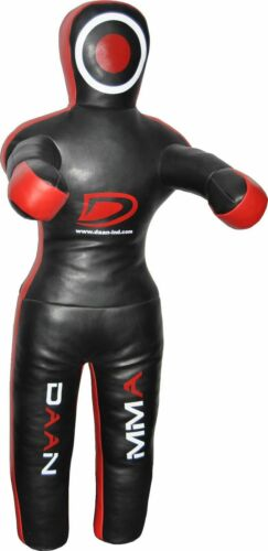 Unfilled DAAN MMA BJJ UFC Kick Boxing Judo Wrestling Leather Grappling Dummy