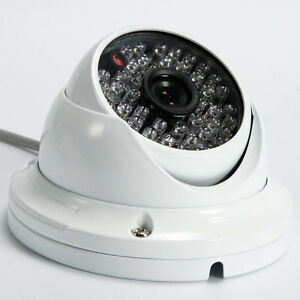 Wide Angle 1000TVL HD Surveillance CCTV Security Camera 48 LED IR Night Vision