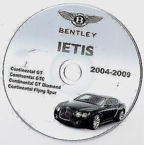 Bentley 2009 Epc & Werkstatthandbuch Epc & Shop Manuell Auto ...