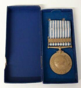 medaille-ONU-de-la-guerre-de-Coree-rare-version-pour-le-CEF-dans-sa-boite