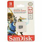 SanDisk 64gb microSDXC Memory Card for Nintendo Switch