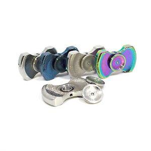 NEW Premium EDC Stainless Steel Metal Design Fidget Spinner LEAD-FREE