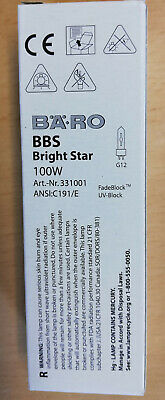 Bäro BBS 70W C139//E Bright Star G12 Entladungslampe 3318E NEU /& OVP