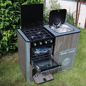 Details about Camper Van Kitchen Pod Motorhome Furniture Unit Built to  Order ALL INCLUDED!