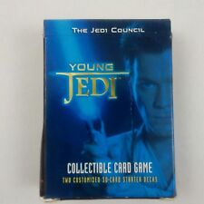 """1 x Young Jedi /""""The Jedi Council/"""" Starter Deck 60 Cards Factory Sealed"""