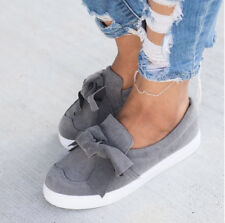 c85eee6984e item 4 WOmen s ROund Toe Flats Low Top Fashion Sneakers Pull On Loafers  Bowknot Shoes -WOmen s ROund Toe Flats Low Top Fashion Sneakers Pull On  Loafers ...