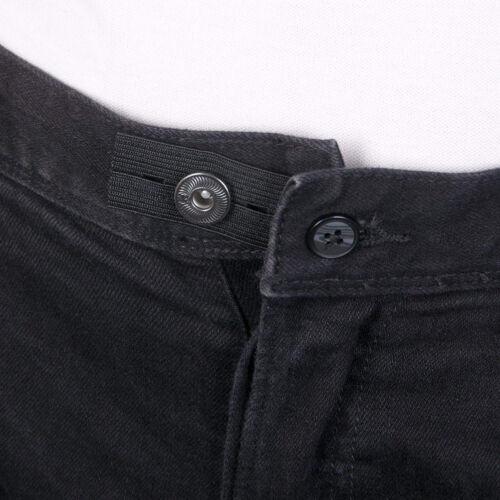6Pcs Skirt Trousers Jeans Pants Waist Expander Extender Weight Gain Maternity SL