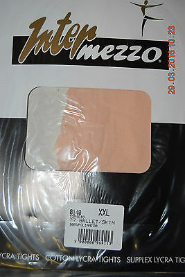 adult and child sizes White Intermezzo footed 140 dance tights